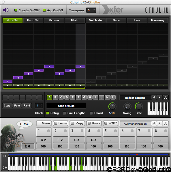 Xfer Records Cthulhu Free Download (Mac OS X)