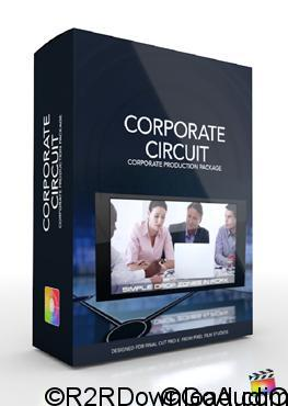Pixel Film Studios Corporate Circuit Corporate Template for Final Cut Pro X (Mac OS X)