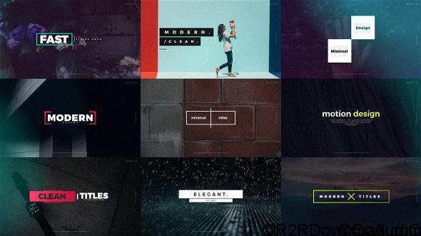 VIDEOHIVE QUICK TITLES Free Download