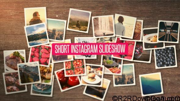 VIDEOHIVE SHORT INSTAGRAM SLIDESHOW Free Download