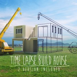 Videohive Time Lapse Build House 5056937 Free Download