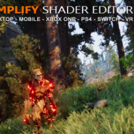 Unity Asset – Amplify Shader Editor 1.6.9 Free Download