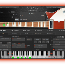 MusicLab RealRick v4.0.5.7471 Incl Patched and Keygen-R2R