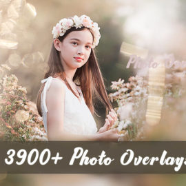 Inkydeals 3900+ Photo Overlays Pack