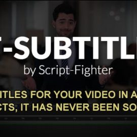 Videohive SF – SUBTITLES v2.4.3 Free Download