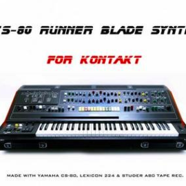 Past to Future Reverbs – CS-80 Runner Blade Synth for Kontakt