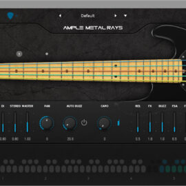 Ample Sound Ample Bass Metal Ray 5 v3.3.0 [WIN+MAC]