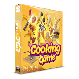 Epic Stock Media Cooking Game – Sound Effects Library