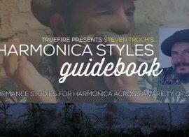 Truefire Steven Troch Harmonica Styles Guidebook TUTORiAL