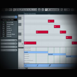 Using Midi Expression and Continuous Controllers