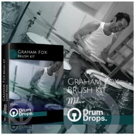 DrumDrops Graham Fox Brush Kit MULTiFORMAT