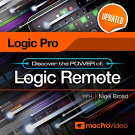 MacProVideo Logic Pro X 107 Logic Remote TUTORiAL