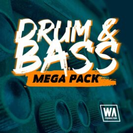 WA Production Drum & Bass Mega Pack MULTiFORMAT