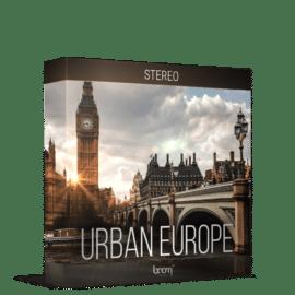 Boom Library Urban Europe Stereo Edition WAV