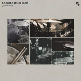 Sample Magic Acoustic Drum Tools WAV