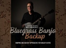 Truefire Ned Luberecki Bluegrass Banjo Backup TUTORiAL