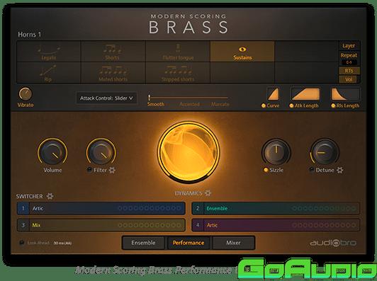 Audiobro Modern Scoring Brass v1.2 KONTAKT