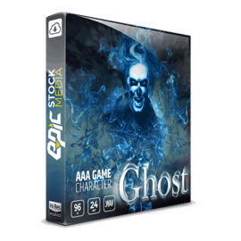 Epic Stock Media AAA Game Character Ghost WAV