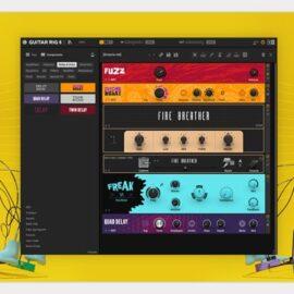 Native Instruments Guitar Rig Pro 6.1.1 [Mac OS X]