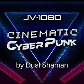 Roland JV-1080 Cinematic Cyberpunk