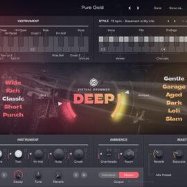 UJAM Virtual Drummer DEEP 2.1.1 [Mac OS X]