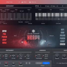 UJAM Virtual Drummer HEAVY 2.1.0 [MAC]