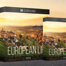 Boom Library European Life 3D Surround / Stereo WAV