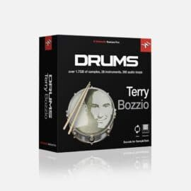IK Multimedia Terry Bozzio Drums for SampleTank 3/4