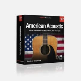 IK Multimedia American Acoustic for SampleTank 3/4