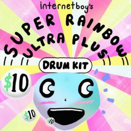 Internetboy's Super Rainbow Ultra Plus Drum Kit WAV