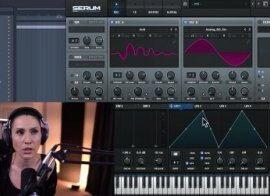 Skillshare Xfer Serum Sound Design Drums, Bass, Pads, Leads PART 1 TUTORiAL