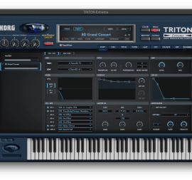 KORG Software TRITON Extreme v1.0.2 (MacOS)