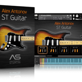 Antonov Samples ST Guitar KONTAKT