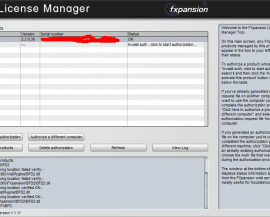 FXpansion License Manager v2.1.0.14 (WIN and OSX)-R2R