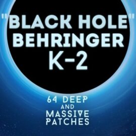 LFO Store Behringer K-2 & Korg MS-20 Black Hole 64 Deep and Massive Patches