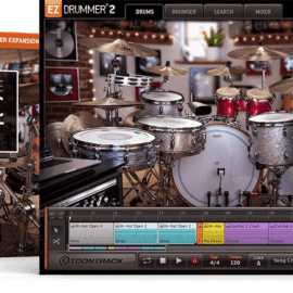 Toontrack In The Pocket EZX Expansions MAC/WIN + UPDATE LIBRARY 101