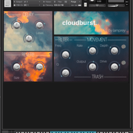 Cloudburst – Playable Guitar Harmonics KONTAKT
