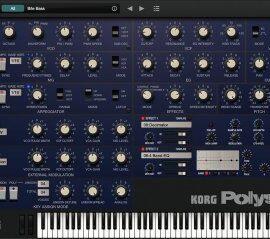 KORG Software Polysix v2.2.1 (MacOS)