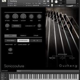 SonicCouture GuZheng v2.1.0 KONTAKT