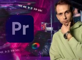 Udemy Premiere Pro 2021 Video Editing Course from Beginner to Pro TUTORiAL